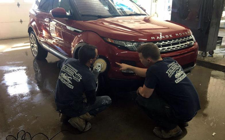 Nous restaurons la carrosserie de tous types de véhicule